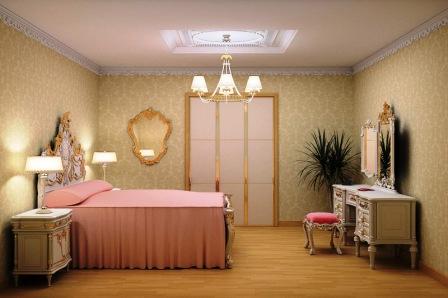 Спальня в стиле classic