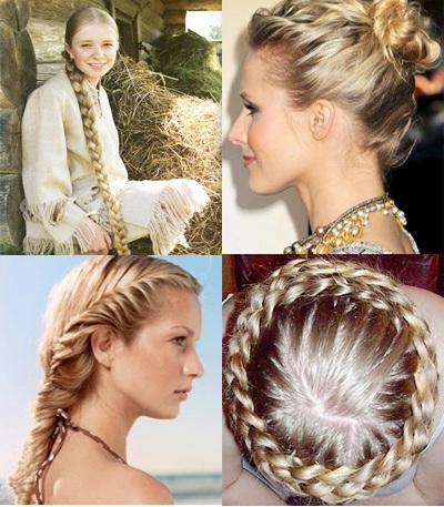 Русские причёски