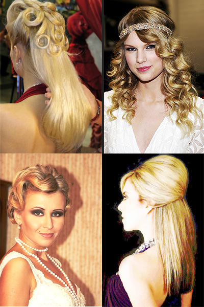 Ретро-причёски