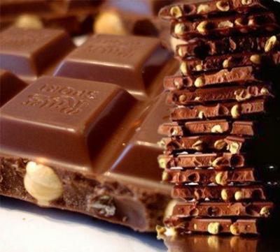 Шоколад с орехами