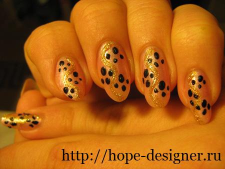 Кошачий дизайн ногтей