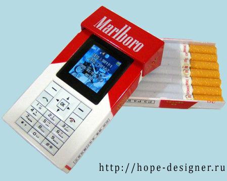 Сигаретный телефон