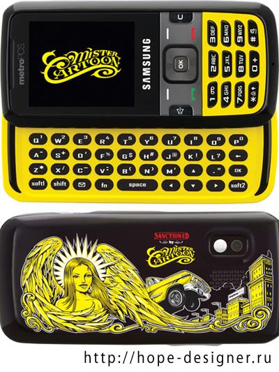 Телефон для любителей татуировок