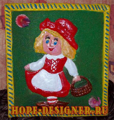 Красная шапочка от Надежды-дизайнера