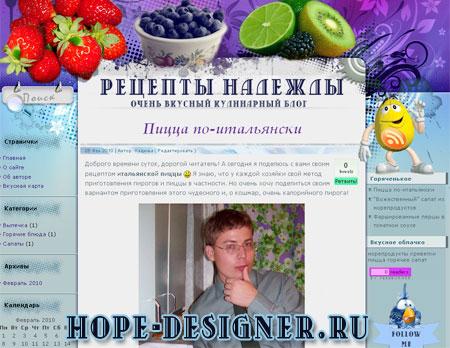 Рецепты Надежды
