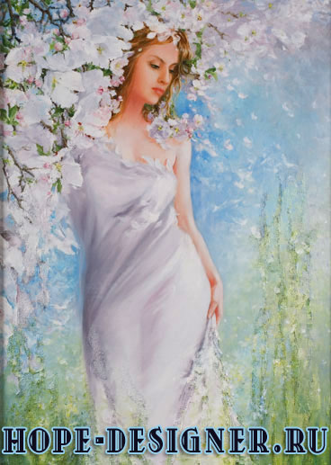 Волшебница-весна
