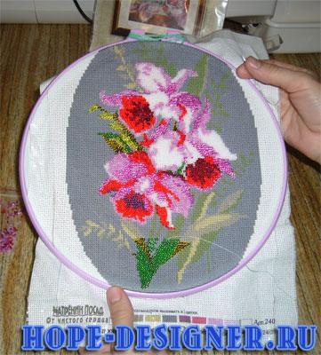 Цена :1380.0 р. Техника вышивания: вышивка бисером В состав набора