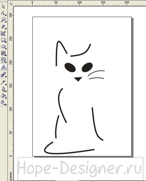 Мой первый векторный рисунок