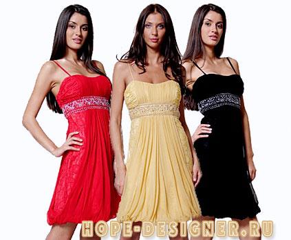 Модное платье 2011 на новый год