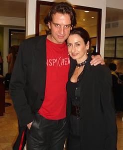 Итальянский модный фотограф Anyes Galleani с мужем