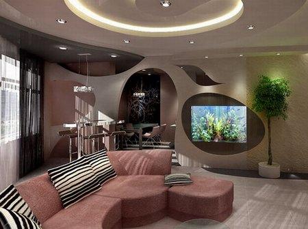 Модный дизайн квартиры