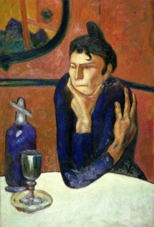 """""""Любительница Абсента"""" ( Пабло Пикассо, 1901)"""