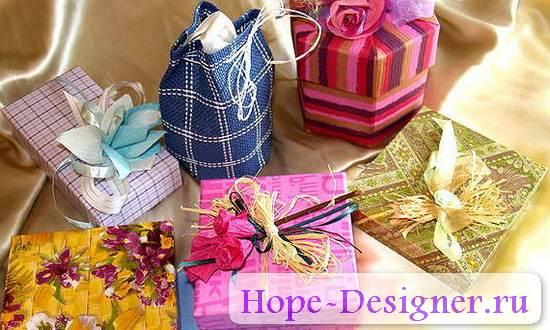 Купить подарки своими руками