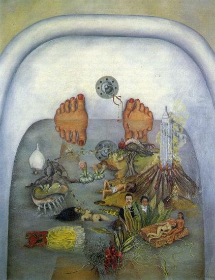 """Фрида Кало """"Что мне дала вода"""" (1938)"""