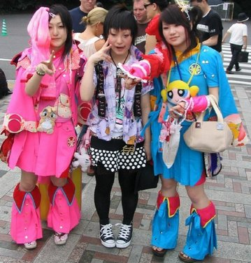 Японская молодёжная мода
