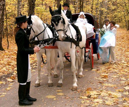 Свадьба в стиле XIX века