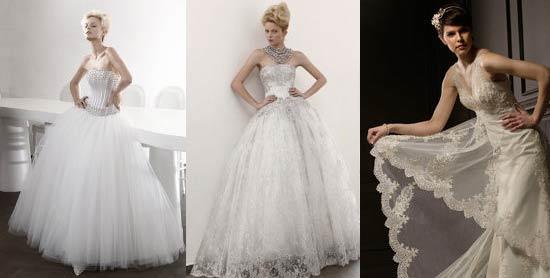 Свадебные платья в романтическом стиле