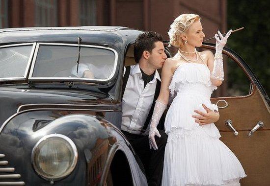 Свадьба в стиле Америки 30-х годов