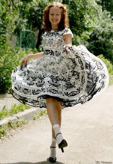 Платье в стиле new-look