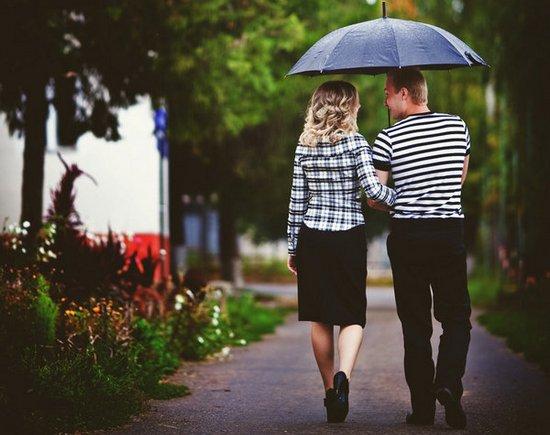 Love-story под дождиком