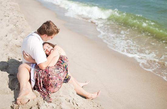 Love-story на пляже