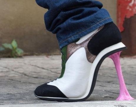 Туфли Chewing Gum от Коби Леви