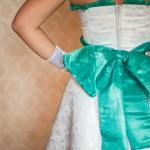 Моё платье - вид сзади