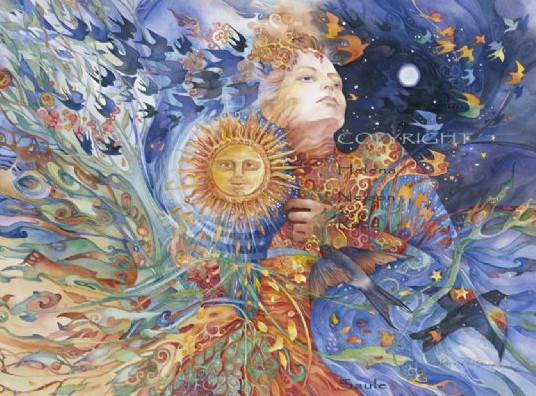 Lithuainian Goddess Saule