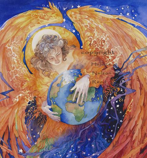 Божественный аспект женского начала - Ангел Защиты