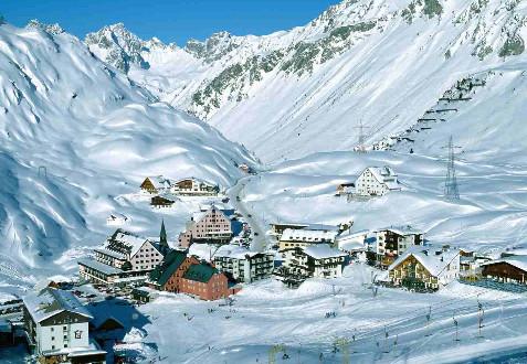Новогодние каникулы в Австрии