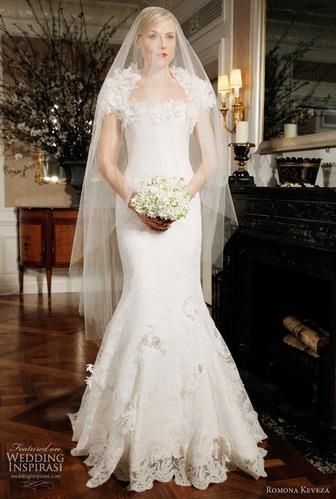 Шикарный свадебный наряд силуэта русалка
