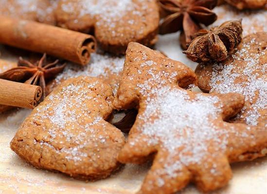 Аппетитные домашние имбирные печеньки