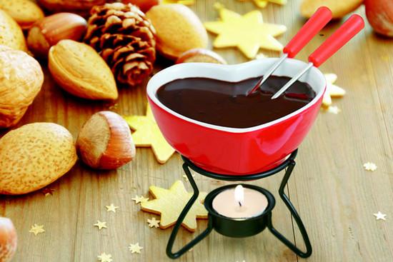 Новогоднее настроение с помощью горячего шоколада