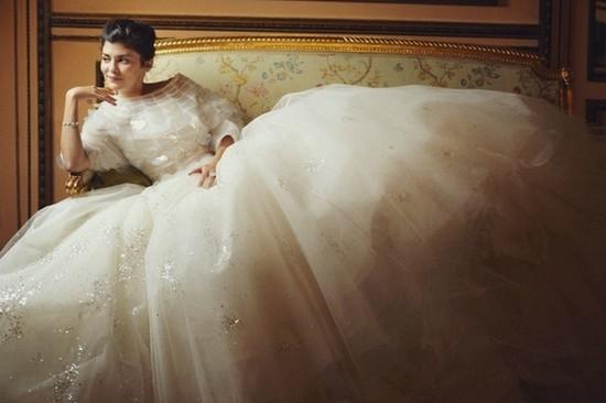 Свадебное платье от Dior