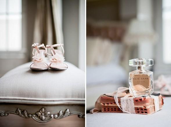 Туфельки и духи невесты