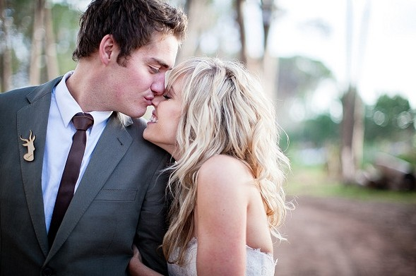 Нежная свадебная фотосессия