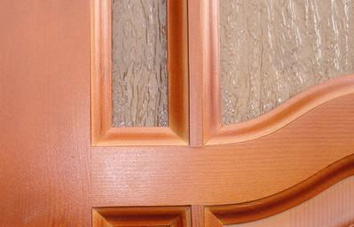 Остекленные межкомнатные двери в квартире