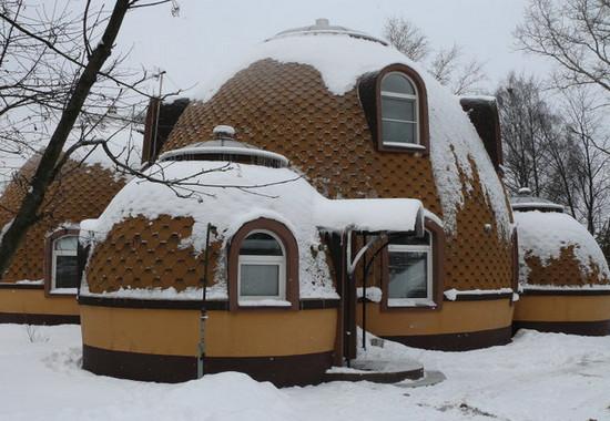 Дом в форме шара