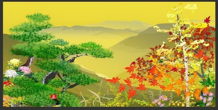 Цифровая живопись Tatsuo Houichi