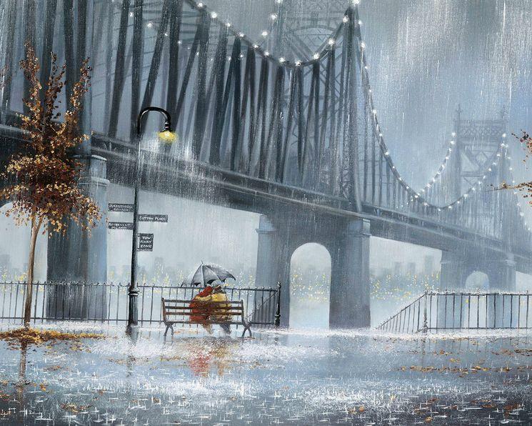 Дождь в полотнах Jeff Rowland
