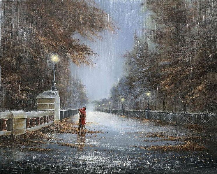 Прогулка под дождиком