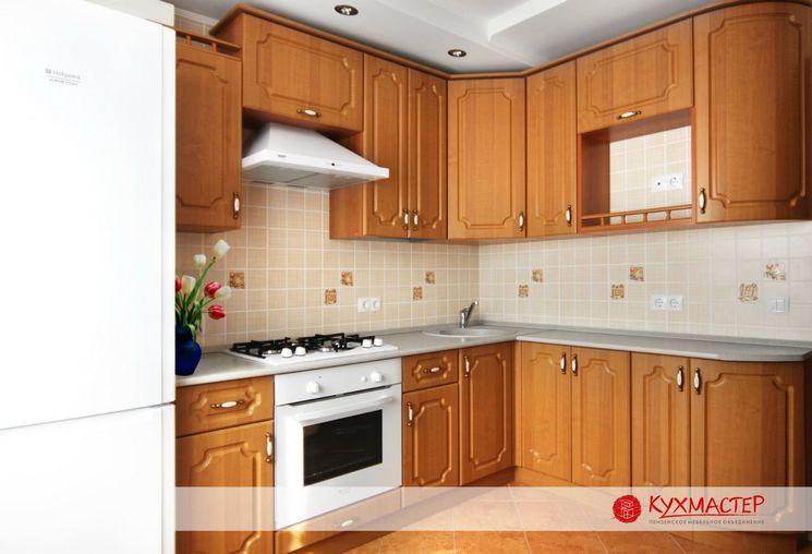 Кухня в классическом стиле (эконом вариант)